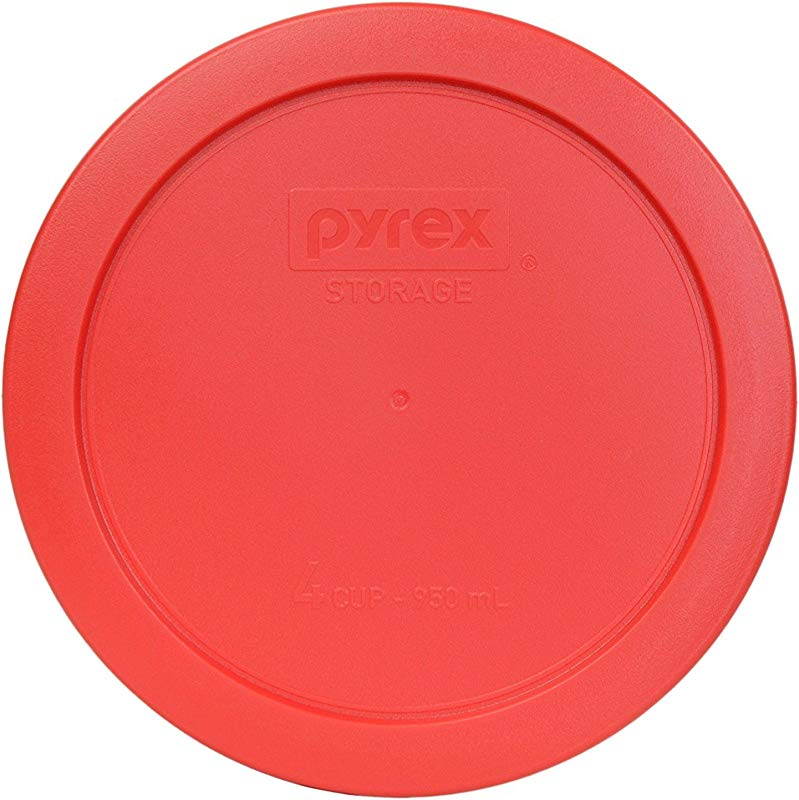Pyrex 7201 PC Round 4 Cup Storage Lid For Glass Bowls 1 Red
