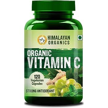 Himalayan Organics Organic Vitamin C - 120 Veg Capsules
