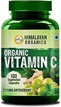 Himalayan Organics Organic Vitamin C - 120 Veg Capsules - Certified Organic - Glowing Skin & Immunity