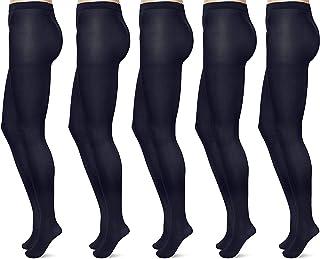 FM London Women's Tights, 40 Denier (Pack of 5)