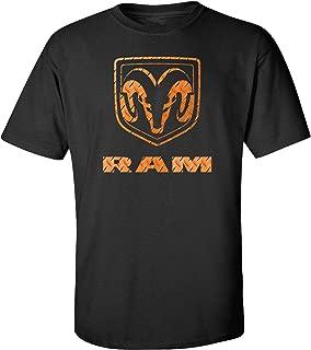 Dodge Ram Trucks Logo Graphic Short Sleeve Adult T-Shirt