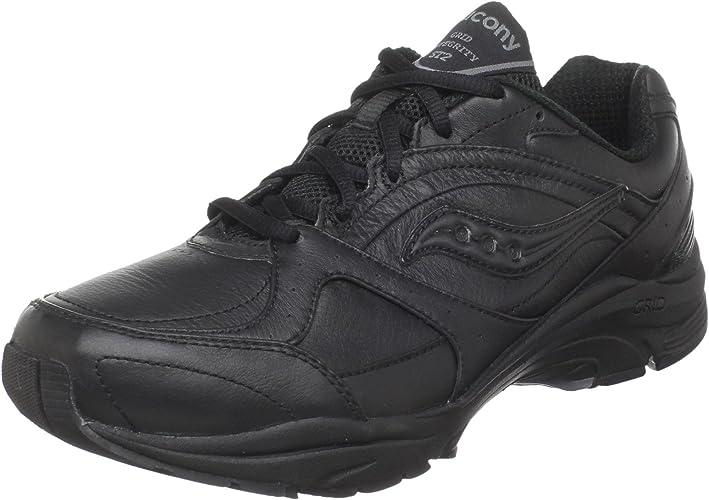 Saucony Wohommes ProGrid Integrity ST2 en marchant chaussures,noir gris,9.5 2E US