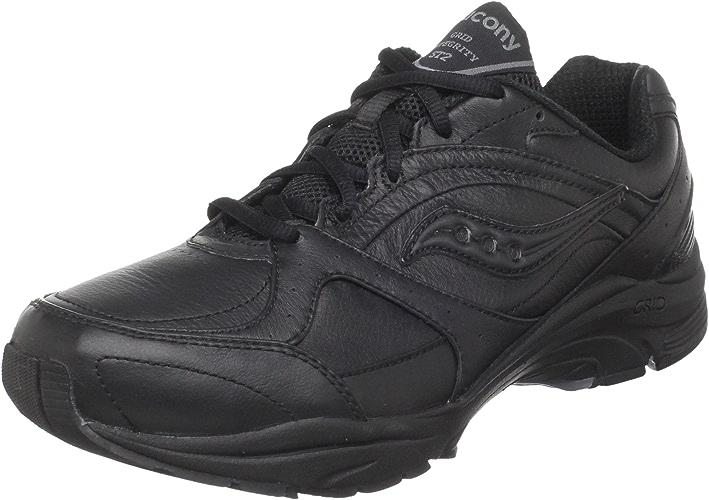 Saucony Wohommes ProGrid Integrity ST2 Walking chaussures,noir gris,5 2E US