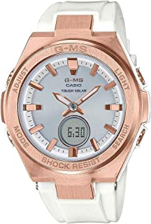 Women's Analog-Digital G-MS MSGS200G-7A Automatic-Self-Wind Stainless Steel Watch Gold