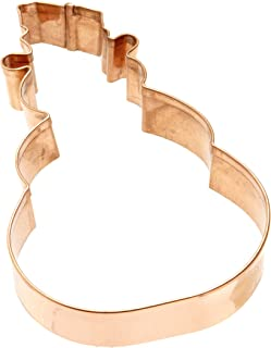 Old River Road SNWMN/S6 cookie cutter, one size, copper