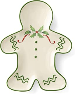 Lenox 887060 Holiday Gingerbread Man Accent Plate