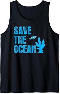 Save the Ocean Coral Lives Matter Reef Tank Tank Top