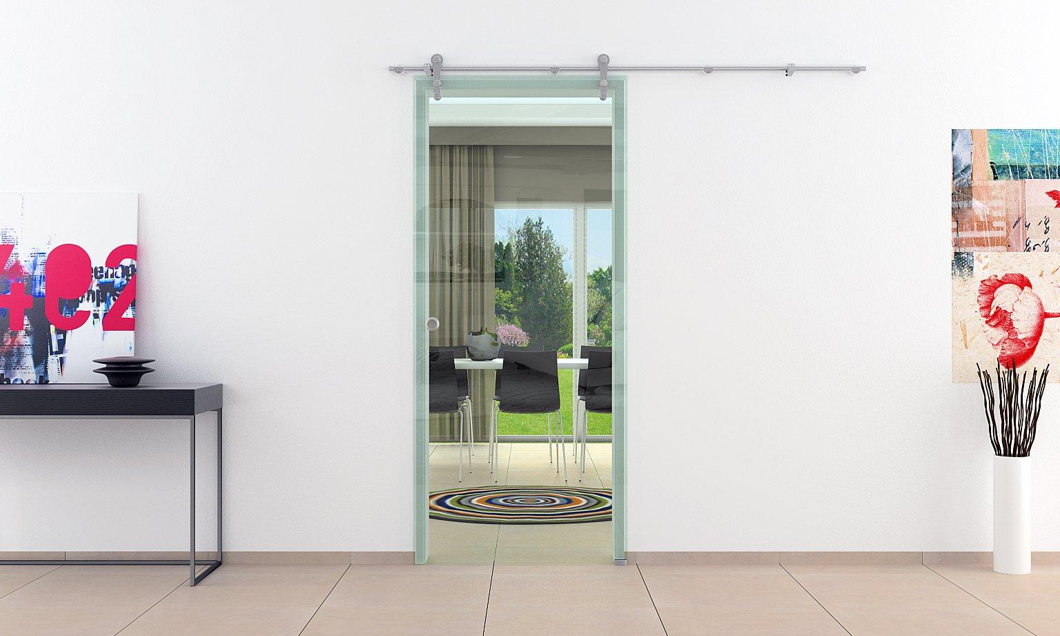 Correderas de cristal de las puertas de interiores 775 mm x 2050 ...