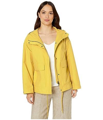 Eileen Fisher Petite Hooded Coat (Yarrow) Women
