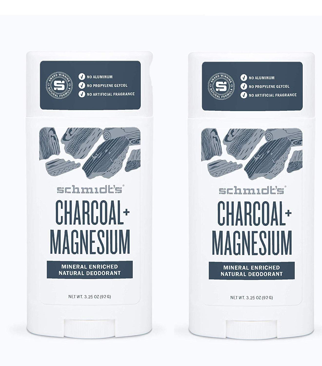 Schmidts Deodorant Charcoal Magnesium 3.25 safety Max 73% OFF Once Pa 2