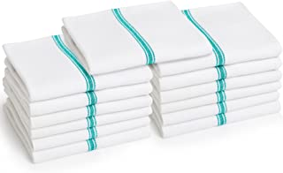 Liliane Collection Dish (13 Pack) -Commercial Grade Absorbent 100% 2-ply Cotton Kitchen (14