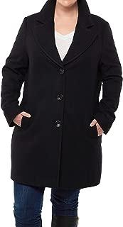 Best long plus size womens pea coat Reviews