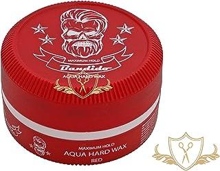 Bandido Hair Wax Red pelo Wax Aqua Hard Wax