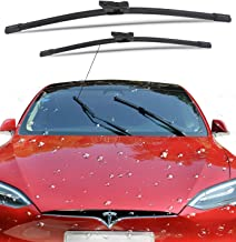 WJM Windshield Wiper Blades for Tesla Model S All-Season Original Equipment Replacement Wiper Blades (Set of 2)