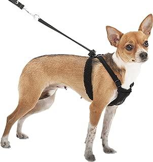 SPORN No-Pull  Dog Harness, Mesh, Black, Extra Small