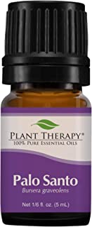 Plant Therapy Palo Santo Essential Oil 100% Pure, Undiluted, Natural Aromatherapy, Therapeutic Grade 5 mL (1/6 oz)