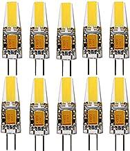 SGJFZD LED Corn Bulbs AC/DC12-24V (10PCS) G4 2W Sapphire LED 100-200LM Warm White Cool White ( Color : Warm White )