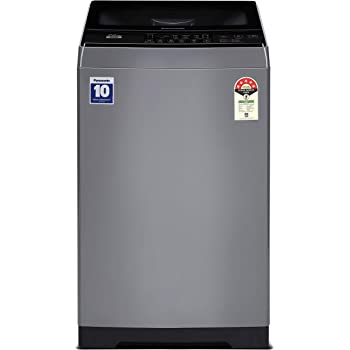 Panasonic 7 Kg 5 Star Fully-Automatic Top Loading Washing Machine (NA-F70LF1HRB, Grey)