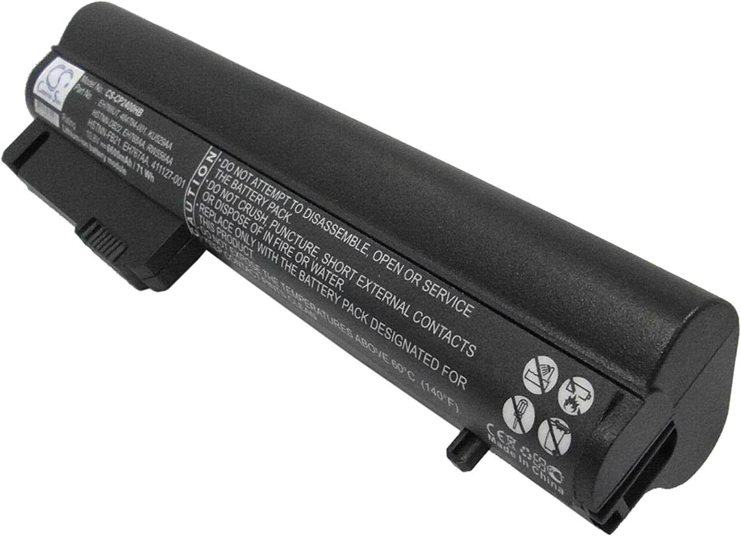 New sales 6600mAh 71.28Wh Tulsa Mall High Capacity Replacement Compaq Battery B for