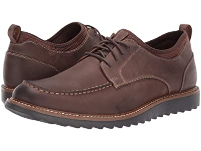 Dockers Faraday Smart Series Oxford (Dark Brown Burnished Crazy Horse) Men