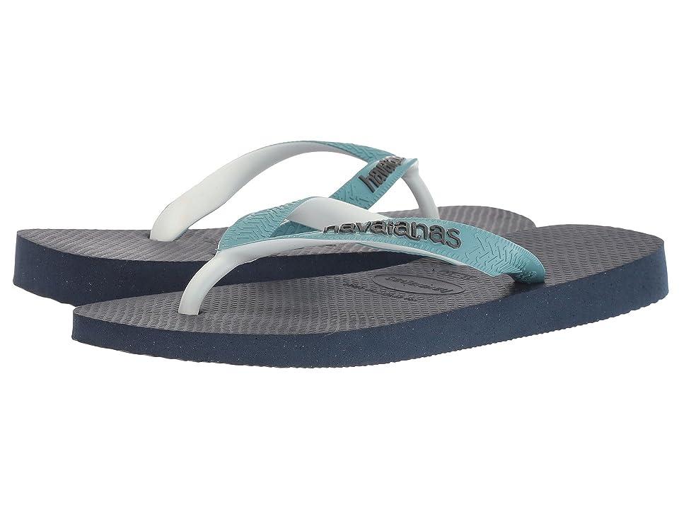 Havaianas Top Mix Flip Flops (Navy Blue/Mineral Blue) Women
