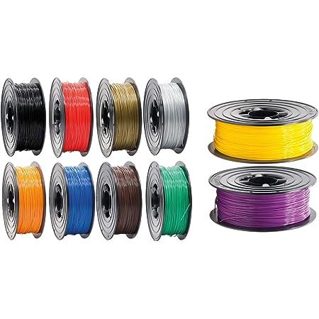 WESISTEK ACCCREATE PLA Filament 1,75 mm 1kg Rolle f/ür 3D Drucker oder Stift in Vakuumverpackung Blau