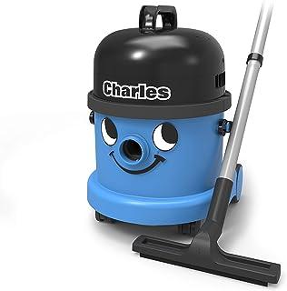 Numatic Charles CVC370 - Aspiradora (1600W, 230V, 50/60 Hz, Cilindro, Combi, Metal) Negro, Azul