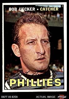 1967 Topps # 326 Bob Uecker Philadelphia Phillies (Baseball Card) Dean's Cards 5 - EX Phillies
