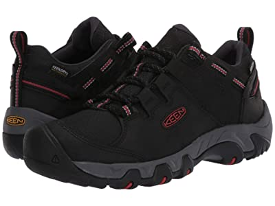 KEEN Steens Waterproof (Black/Bossa Nova) Men