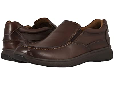 Florsheim Great Lakes Moc Toe Slip-On (Brown Smooth) Men