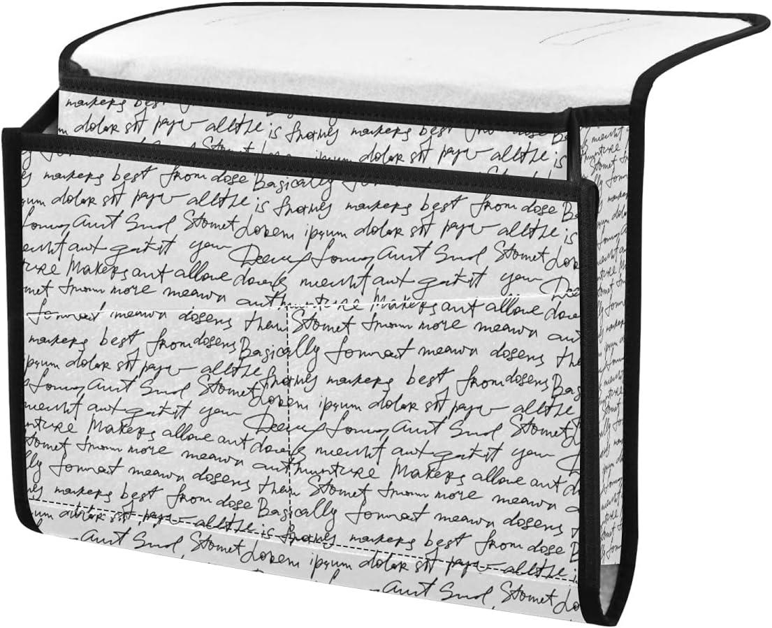 SODERHAMN Text Soldering Manuscript Bedside Caddy with Pocke Armrest 6 Outlet ☆ Free Shipping Bag