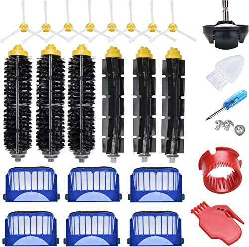 JoyBros 23-Pack Replacement Parts Accessories Compatible for iRobot Roomba 600 Series 690 692 680 660 651 650& 595 58...