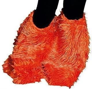 K84565364 orange Stulpen Schläge Hippiestulpen Hippieschläge