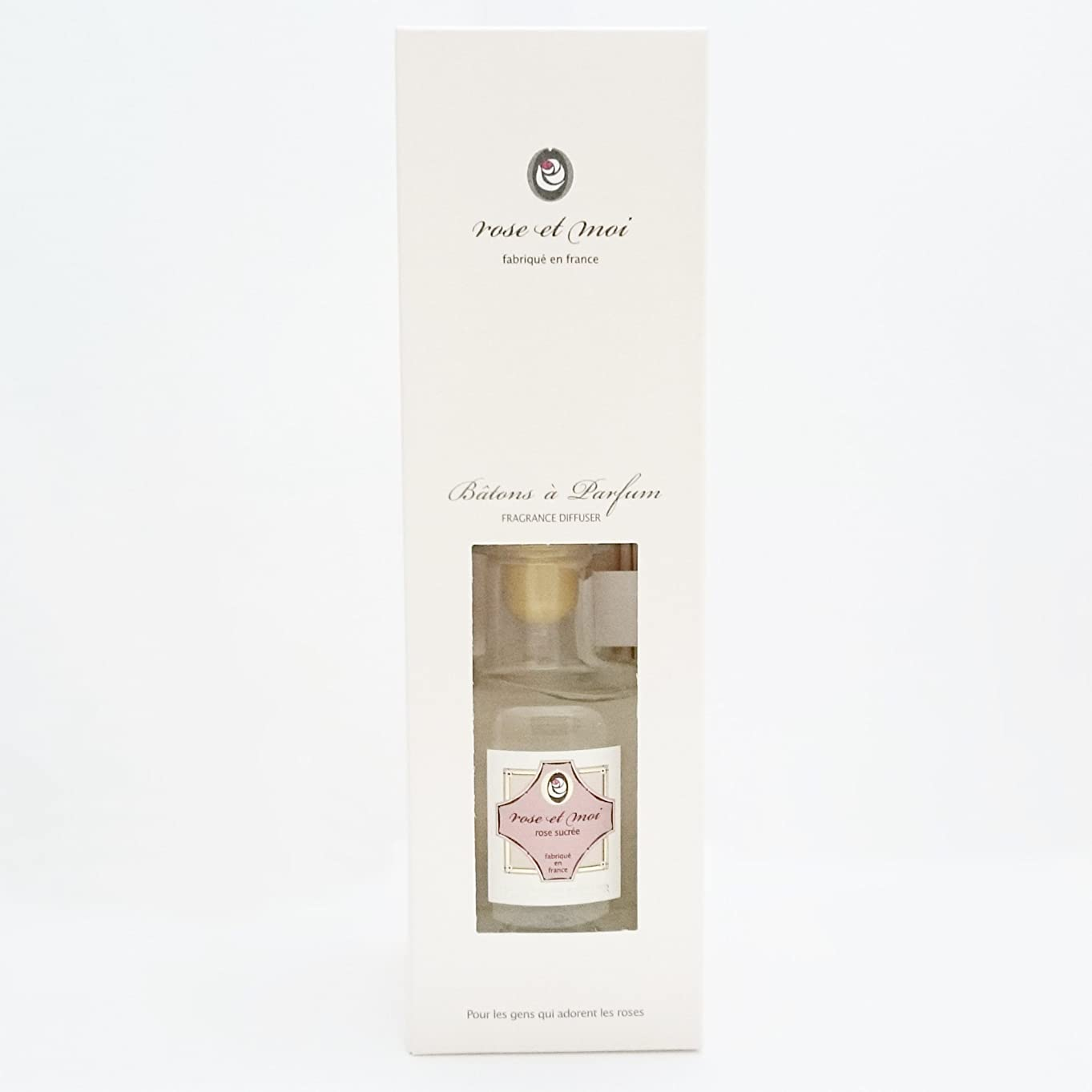 オアシス処方思いやり【ローズシュクレ】Lothantique(ロタンティック)  rose et moi(ローズ エ モア)  フレグランスディフューザー 200ml (rose sucree(ローズ シュクレ))4994228026972