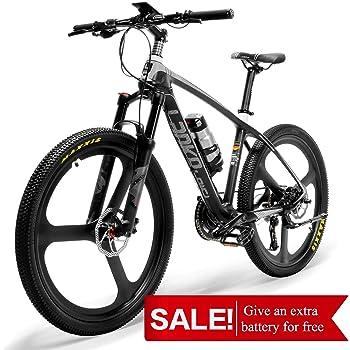 LANKELEISI S600 - Bicicleta de montaña de Fibra de Carbono, súper ...
