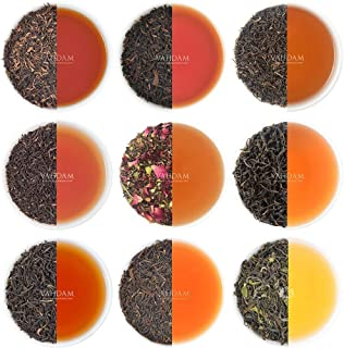 VAHDAM, Black Tea Sampler - 10 TEAS, 50 Servings | 100% Natural Ingredients | Black Tea Loose Leaf | Tea Variety Pack| Gif...