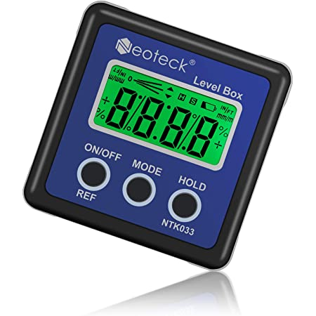 LCD Digital Bevel Box Gauge Backlight Angle Finder Protractor Wasserdicht