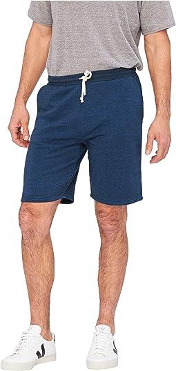 Garrett Tri-Blend Fleece Shorts
