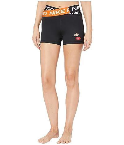 Nike Pro 3 Cool Shorts Icon Clash (Black) Women