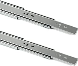 SOTECH 1 paar volledig uittrekbare ladegeleiders KV2-45-H45-L500-SC met softclose, hoogte 45 mm, lengte 500 mm laderails b...