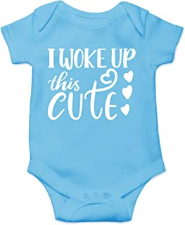 I Woke up This Cute - Coming Home Outfits - Cute Infant One-Piece Baby Bodysuit