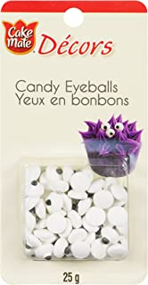 Cake Mate, Decorating with Ease, Decors Candy Eyeballs, 25g