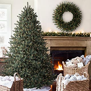 Balsam Hill Classic Blue Spruce Artificial Christmas Tree, 4.5 Feet, LED Clear Lights