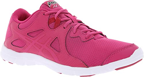 ASICS Chaussures de Course Femme Gel-FFaible Fitness Rose