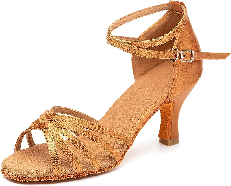 Cheap sale Women's Dance Shoes 5 popular Latin Salsa Tango Ballroom Practice Bachata