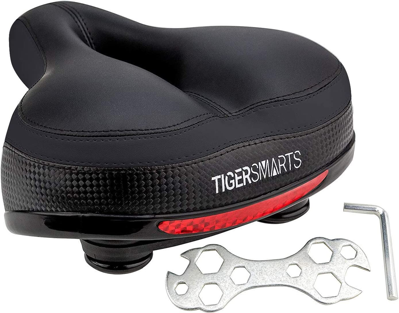 TIGERSMARTS Max 59% OFF Bike Seat online shopping Replacement Bicycle Padded Sea Comfortable