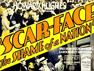 Posterazzi Scarface Karen Morley Paul Muni Osgood Perkins Vince Barnett George Raft 1932 Movie Masterprint Poster Print (14 x 11)