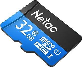 32GB Netac P500 microSDHC CL10 UHS-I Memory Card w/SD Adapter