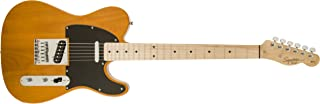 Best Squier by Fender 6 String Solid-Body Electric Guitar, Right Handed, Butterscotch Blonde (310203550) Reviews