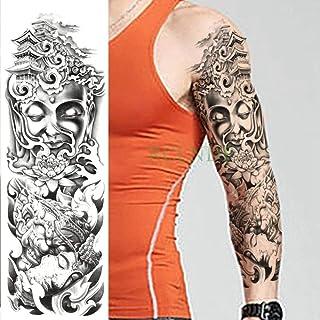 Handaxian 3pcs Tatuaje estatuas Etiqueta de Loto Pagoda Completa ...
